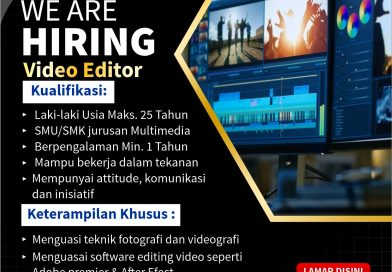 Lowongan Video Editor